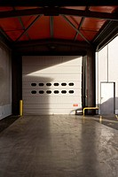 Roll_up door of warehouse