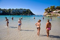Cala Galdana. Minorca. Balearic Islands. Spain.