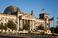Reichstag building, outdoors, Berlin, Germany, Europe