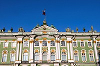 Russia, St Petersburg, winter palace
