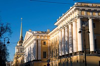 Russia, St Petersburg, the admiralty