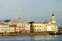 Russia, St Petersburg, Vassilievsky island