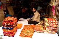 India, Punjab, seller of fabrics