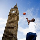 Basketball player and big ben (thumbnail)
