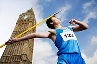 Javelin thrower by big ben