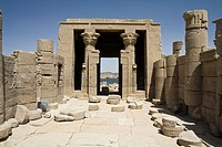 Temple of Isis on Philae Island, Aswan, Egypt