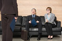 Business people waiting for job interview (thumbnail)