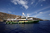 Solmar V luxury liveaboard, San Benedicto, Revillagigedo, Socorro Islands, East Pacific Ocean, Mexico