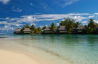 Lagune auf Moorea, Society Islands, French Polynesia