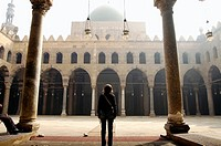mosque in the citadel of Cairo, Egypt