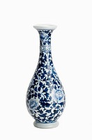 Vase, Blue-and-White Porcelain (thumbnail)