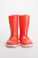 A pair of rubber boot