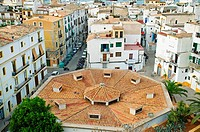Ibiza City. Ibiza. Balearic Islands. Spain.