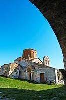 Byzantine monastery. Apollonia. Albania.