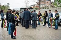 Funeral. Vlore. Albania.