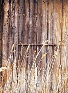 reed and wooden door