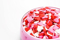Heart shaped sweets (thumbnail)