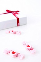 candy and gift box