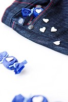 candy and bule jeans