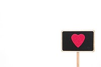 Heart shape on the sign (thumbnail)