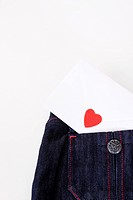 envelope on the bluejean