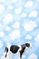 Wallpaper and animal shape, cow (thumbnail)