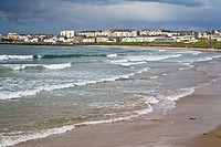 Coastline of Portrush in Northern Ireland, Europe