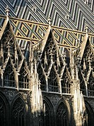 Detail vom Stephansdom