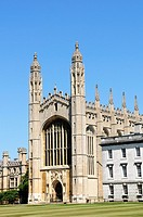 King's College Chapel, Cambridge, England, UK
