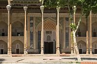 Bolo Hauz Mosque, Bukhara, Uzbekistan, UNESCO World Heritage Site