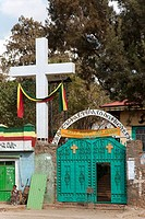 Africa. Ethiopia. Gonder. Catholic church.