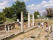 europe, macedonia, ruins of heraclea lyncestis
