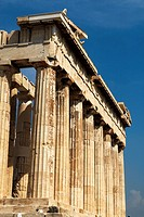 Parthenon temple in Acropolis