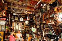 Antiques shop in Penang, Malaysia, Southeast Asia