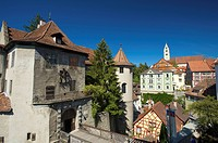 Baden_Wurttemberg, Lake of Constance, Germany, Meersburg, old castle, castle, building, building, construction, architecture, architecture, castle, ca...