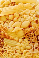 Various types of pasta full_frame