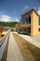 The new WISE building Wales Institute for Sustainable Education at The Centre for Alternative Technology, Machynlleth, Powys Wales UK