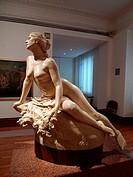 Escultura clásica. Museo Nacional de Arte, Ciudad de México.