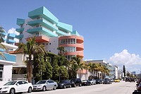 Building in South Beach, Florida, USA