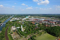 Germany, Oberhausen, Ruhr area, Lower Rhine, North Rhine-Westphalia, Germany, Oberhausen-Neue Mitte, Ruhr 2010, Cultural Capital 2010, route of indust...
