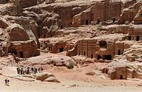 Ruin, Petra, Jordan, Asia