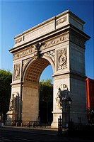 Washington Square Arch, Greenwich Village, New York City