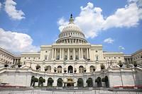 Capitol Building, Capitol Hill, Washington D.C., United States of America, North America