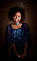 Skeptical African American Woman