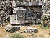 Pirámide de Quetzalcóatl. Teotihuacán. México.