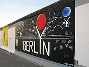 East Side Gallery Berlin Wall Germany Berlin Friedrichshain