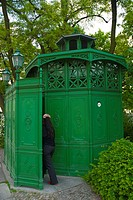 Public toilet Senefelder Platz square Prenzlauer Berg east Berlin Germany Europe