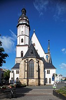 Thomaskirche, Leipzig, Saxony, Germany