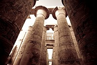 Egypt, Luxor, Karnak, Temple of Amun, Great Hypostyle Hall