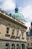 La Pollet ST PETER PORT GUERNSEY Lloyds Bank building in The Pollet St Peter Port